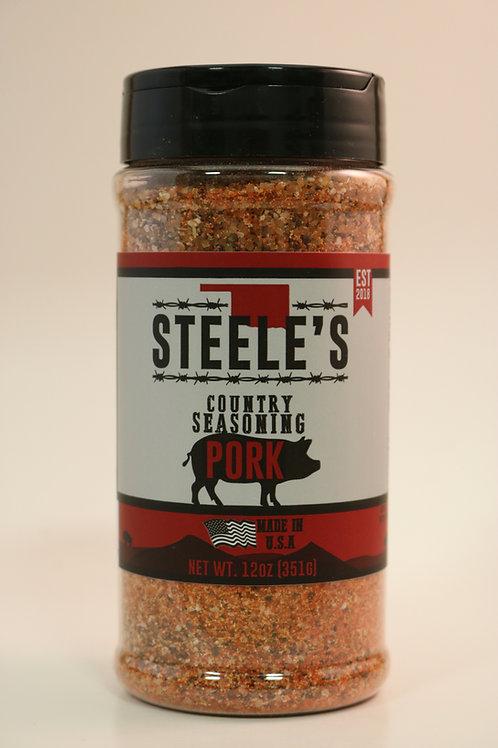 Steele's Country Seasoning Pork