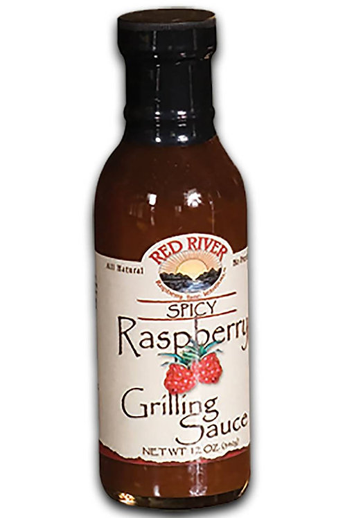 Red River Spicy Raspberry Grilling Sauce