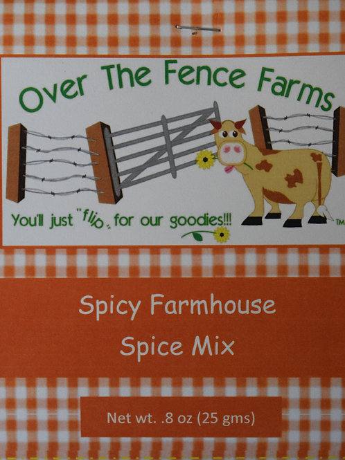 Spicy Farmhouse Spice Mix- Over the Fence Farms