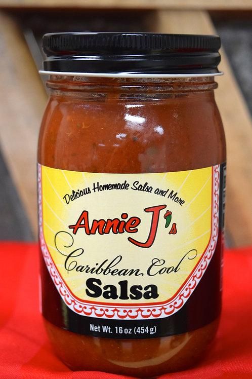 Annie J's Caribbean Cool Salsa - 16 oz