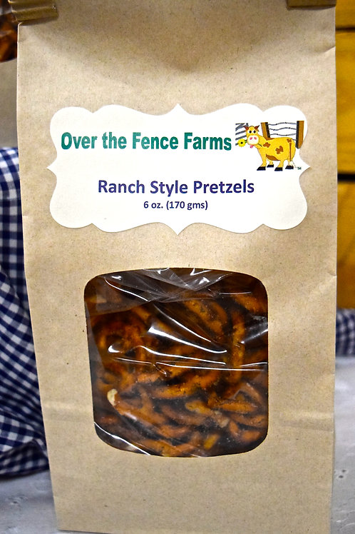 Ranch Style Pretzels-Over the Fence Farms