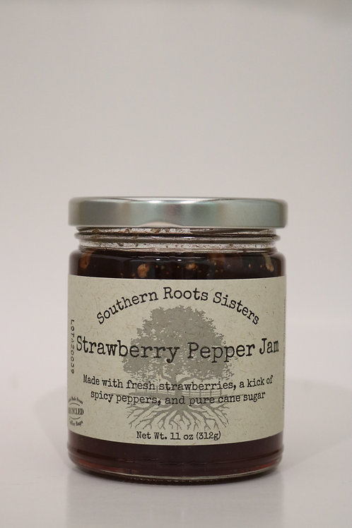 Strawberry Pepper Jam - Southern Roots Sisters