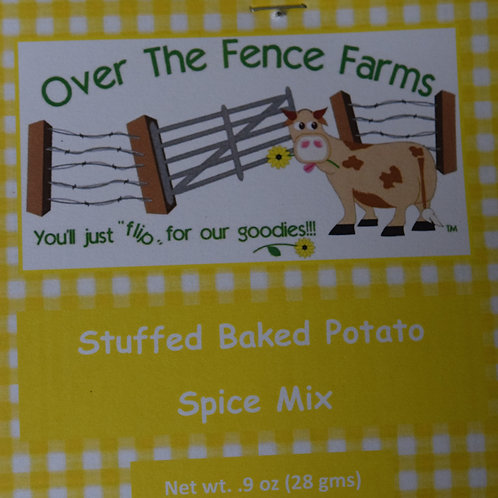Stuffed Baked Potato Spice Mix- Over the Fence Farms