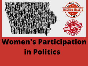 WOMEN'S PARTICIPATION IN POLITICS