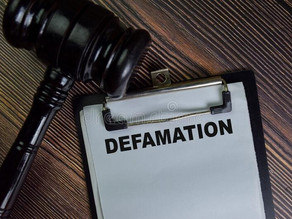 DEFAMATION BY CYBERCRIME