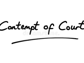 COMPARATIVE ANALYSIS OF LAW OF CONTEMPT AND THE FREEDOM OF SPEECH