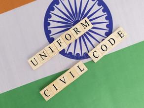 UNIFORM CIVIL CODE AND GENDER JUSTICE