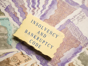 INSOLVENCY AND BANKRUPTCY CODE, 2016 AND BLANKET SUSPENSION, 2020