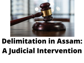THE DELIMITATION IN ASSAM: A JUDICIAL INTERVENTION