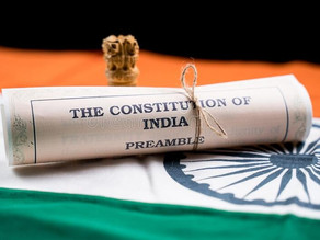 WHETHER AN ARTICLE FROM INDIAN CONSTITUTION BE SCRAPPED BY DRAWING POWERS FROM THE ARTICLE ITSELF?
