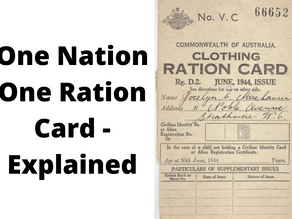 ONE NATION ONE RATION CARD- EXPLAINED