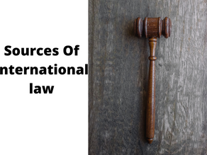 SOURCE OF INTERNATIONAL LAW