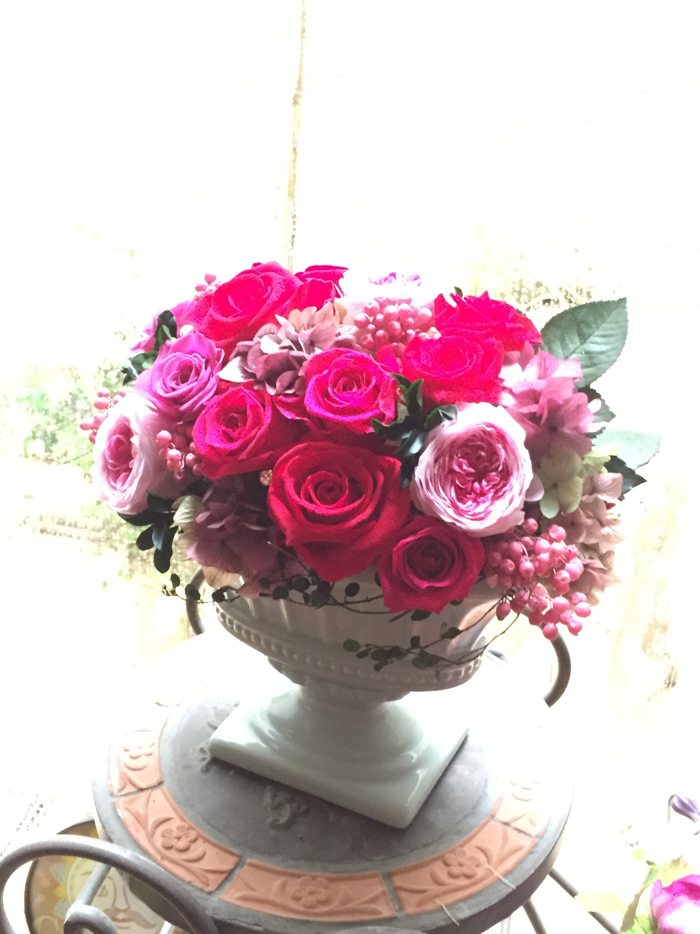 お誕生日御祝い-Preserved Flower-