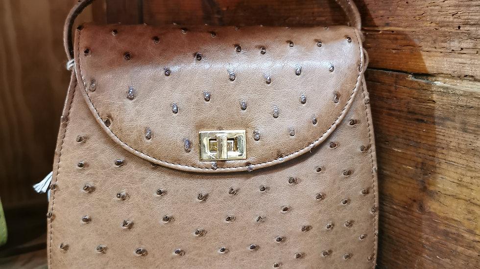 LV ostrich bag