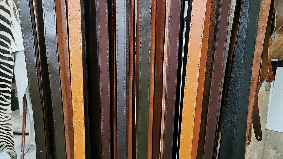 Unisex leather belts