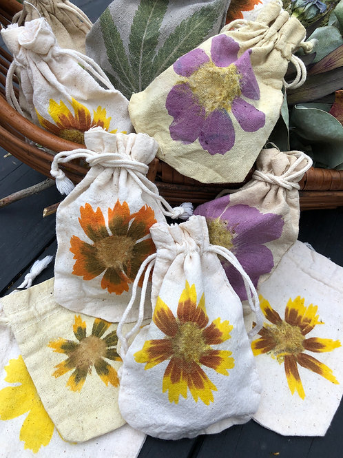 11 Flower Power Pouches- Custom Order Heather Louise Jewelry