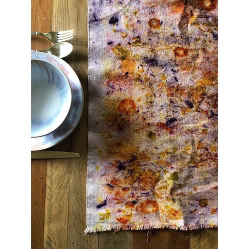Botanically Bundle Dyed Table Runner