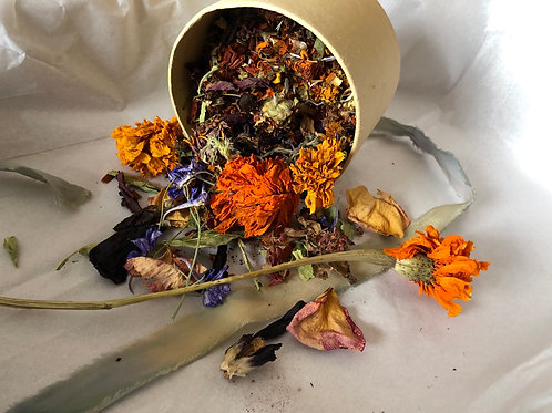Natural Dye Flower Mix