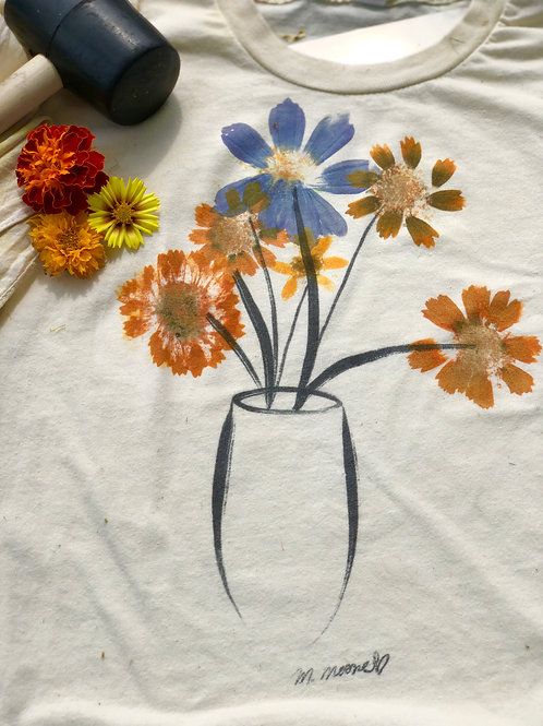The Hammered Flower FINISHED Tee