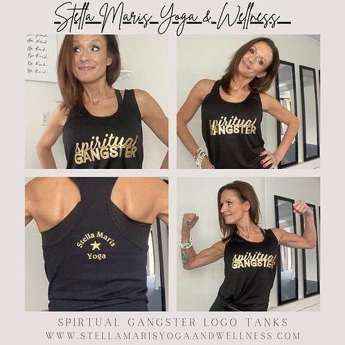 Stella Maris Yoga Spiritual Gangster Logo Tank