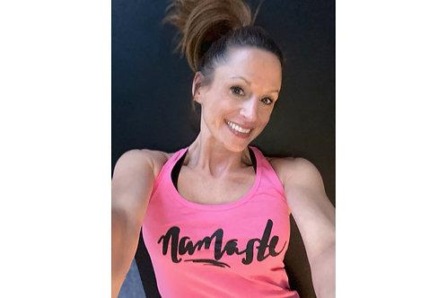 Stella Maris Yoga Namaste Logo Tank