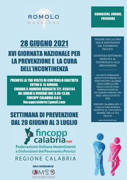 28 giugno 2021 - XVI giornata per la prevenzione e la cura dell'incontinenza
