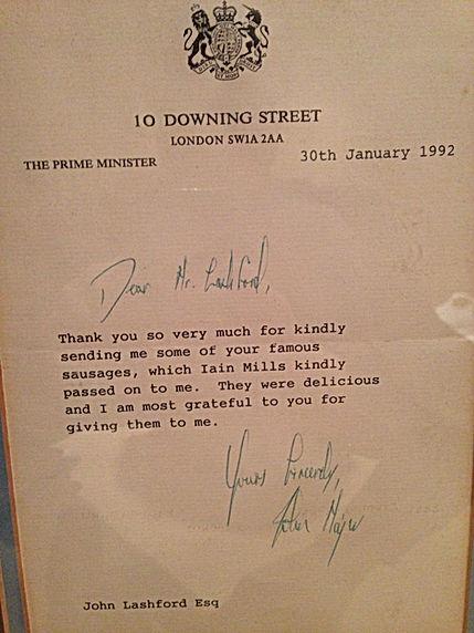 Former Prime Minister, John Majors approval