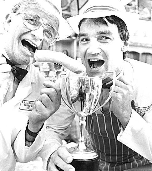 Steve and John celebrating on our many awards