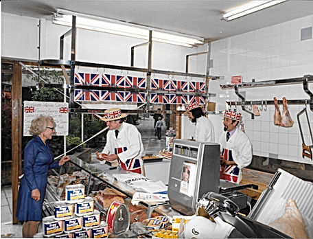 Silver Jubilee at the shop in Knowle