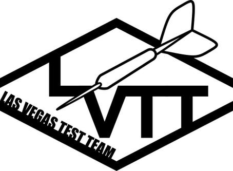 Las Vegas Test Team Logo - Why the dart?