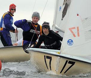 Maarten Eenkema van Dijk and Becker Awqatty Northeastern Sailing