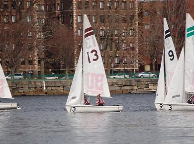 Matteo Alampi Laura Tschiegg Northeastern Sailing