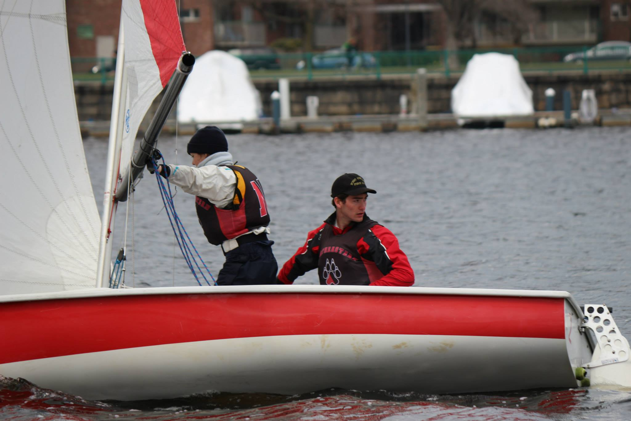 Boston Dinghy Cup, Spring 2014