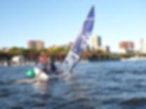 Elise Gehling and Tasha Greenwood Northeastern Sailing