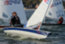 Tasha Greenwood Northeastern Sailing Laser