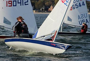 Tasha Greenwood Northeastern Sailing Laser