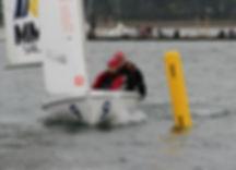 Maarten Eenkema van Dijk and Janelle Veary Northeastern Sailing