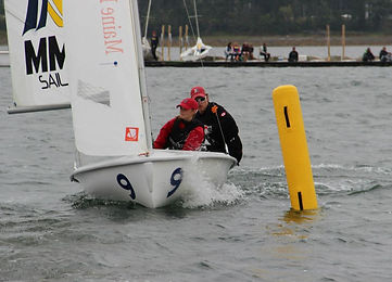 Maarten Eenkema van Dijk and Janelle Veary Northeastern Sailing