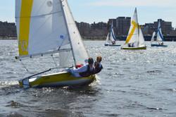 Boston Dinghy Cup, Spring 2014