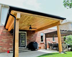 Covered Porch Burlington