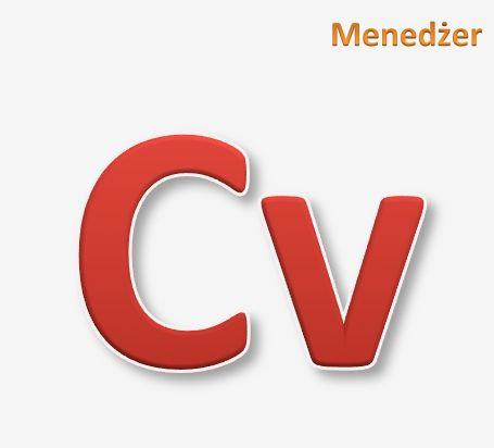 CV dla Menedżera
