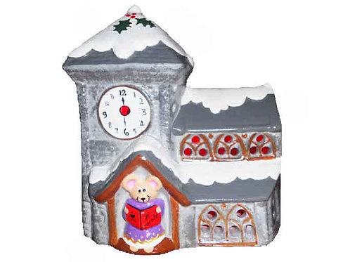 Christmas Church Mouse Night Light
