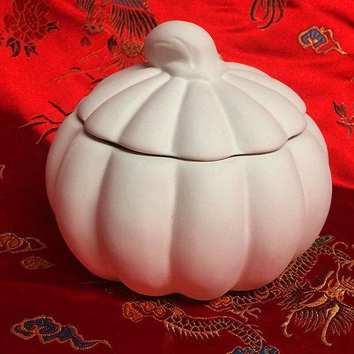 'Paint Your Own' Kit 108 - Pumpkin trinket box