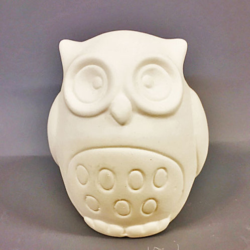 'Paint Your Own' Kit 166 - Small Owl money box