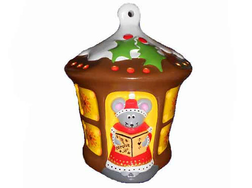 Lantern Mouse Christmas Night Light