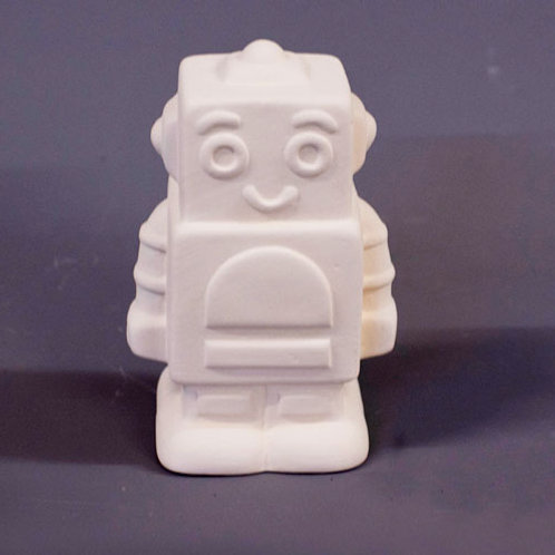 'Paint Your Own' Kit 178 -Small Robot money box