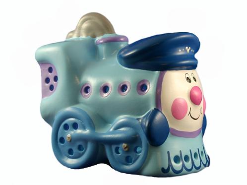Handmade Ceramic 'Happy Train' Children's Nightlight