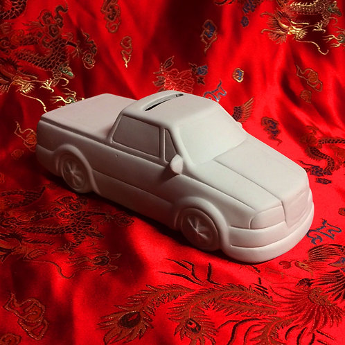 'Paint Your Own' Kit 144 - Pickup truck  money bank