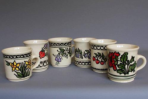 Hand-thrown Mug (6 colours)