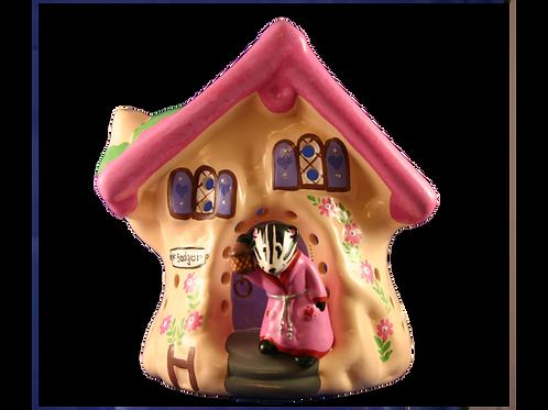 Handmade Ceramic 'Badger's Tree House' Children's Nightlight